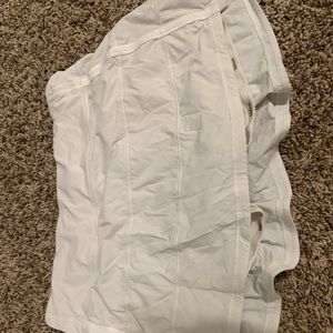 lululemon athletica Shorts - White lulu skirt Sz 8